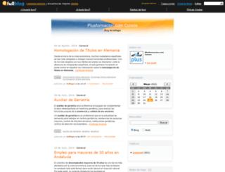 plusformacion.fullblog.es screenshot
