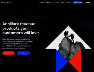 plusgrade.com screenshot