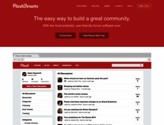 plushforums.com screenshot