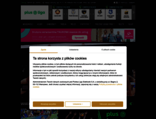 plusliga.pl screenshot
