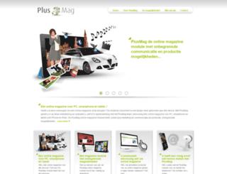 plusmag.nl screenshot