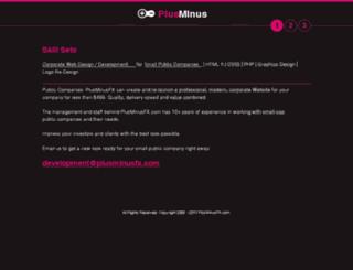 plusminusfx.com screenshot