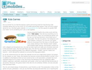 plusmobiles.com screenshot