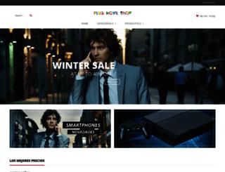 plusmovilshop.com screenshot
