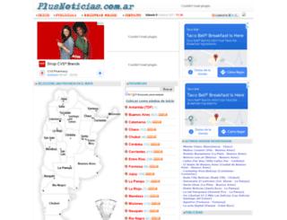 plusnoticias.com.ar screenshot