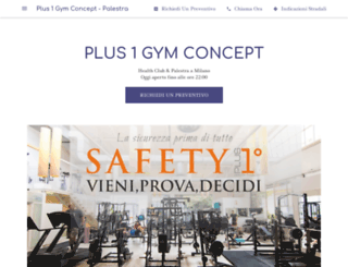 plusone.it screenshot