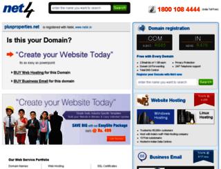 plusproperties.net screenshot
