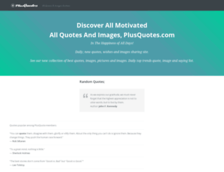 plusquotes.com screenshot