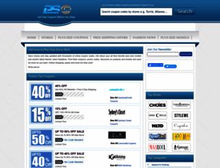 plussizesavvymom.com screenshot