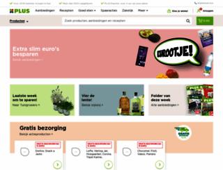 plussupermarkt.nl screenshot