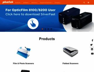 plustek.com screenshot