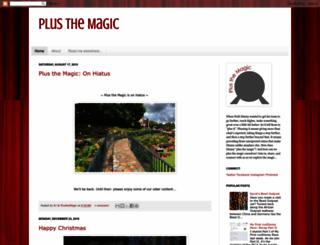 plusthemagic.com screenshot