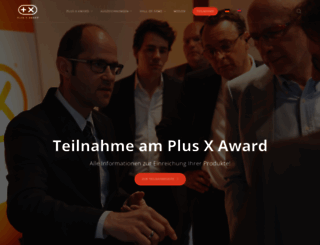 plusxaward.de screenshot