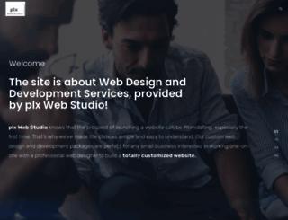 plxwebdev.com screenshot
