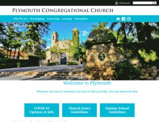 plymouthmiami.org screenshot