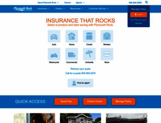 plymouthrock.com screenshot