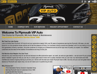 plymouthvipauto.com screenshot