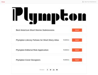 plympton.submittable.com screenshot