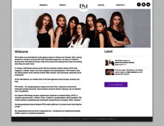 pm-models.com screenshot