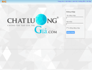 pm.chatluonggia.com screenshot