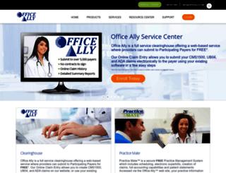 pm.officeally.com screenshot