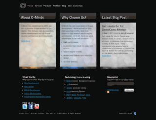 pma.o-minds.com screenshot