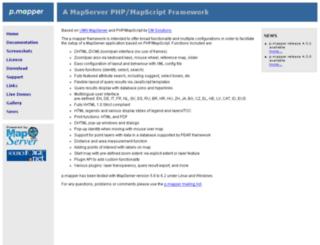 pmapper.net screenshot