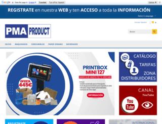 pmaproduct.com screenshot