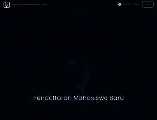 pmb.lp3i.ac.id screenshot