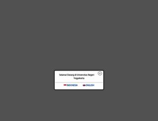 pmb.uny.ac.id screenshot