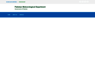 pmd.gov.pk screenshot