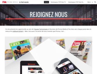 pmdrecrute.com screenshot