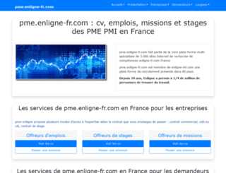 pme.enligne-fr.com screenshot