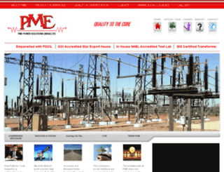 pmepowersolutions.com screenshot