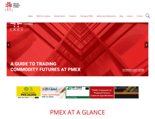 pmex.com.pk screenshot