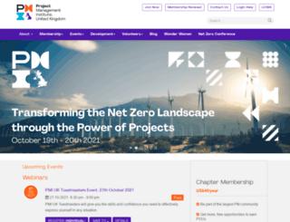 pmi.org.uk screenshot