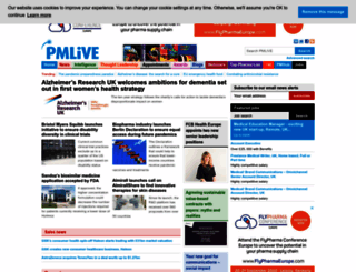 pmlive.com screenshot