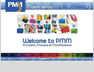 pmm-mex.com screenshot
