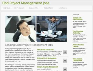 pmojobshunt.com screenshot