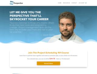pmperspective.com screenshot