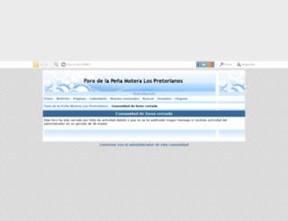 pmpretorianos.mforos.com screenshot