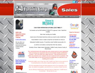 pmtforklift.com screenshot