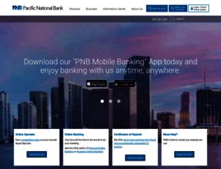 pnb.com screenshot