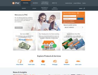 pnc.com screenshot