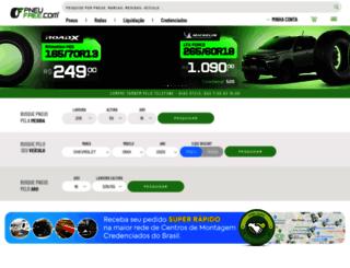pneufree.com.br screenshot