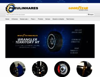 pneulinhares.com.br screenshot