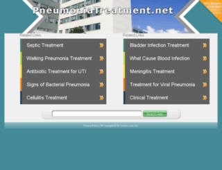 pneumoniatreatment.net screenshot