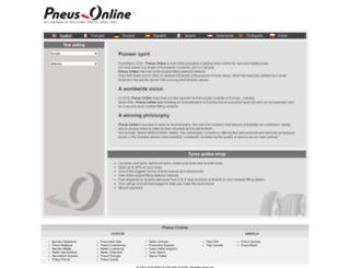 pneus-online.gr screenshot