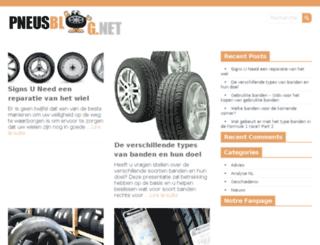 pneusblog.net screenshot