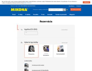 pneuservisonline.sk screenshot